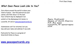 Peace Postcard - Postcard