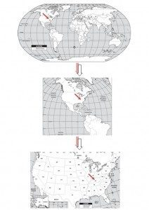 Peace Postcards - Map