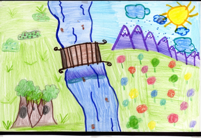 Peace Postcard - A.L. Lotts Elementary