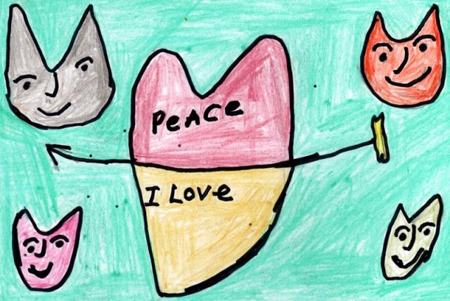 Peace Postcards - Terre Haute