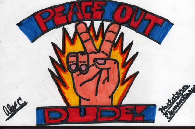 Peace Postcards - Hartstern Elementary