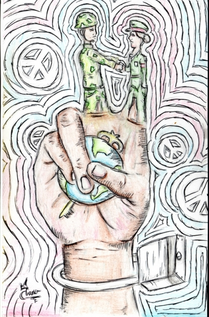 Peace Postcards - Butler Highschool