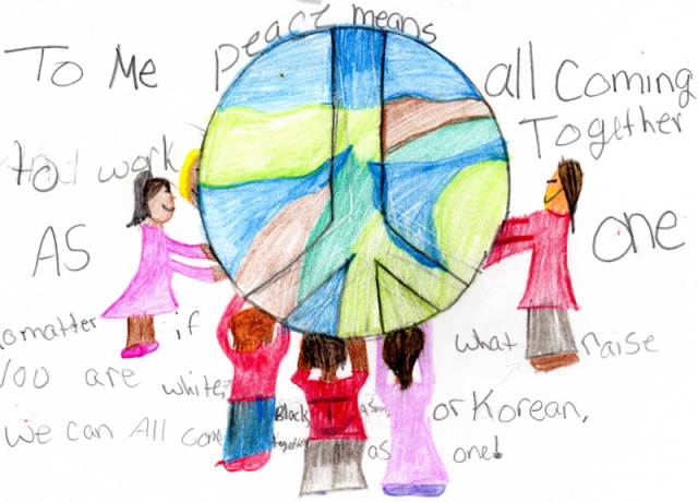 Peace Postcards - Camp Taylor