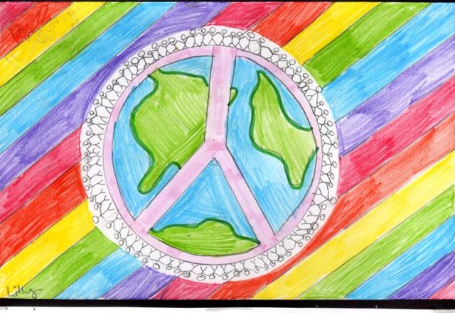Peace Postcards - St. Leonards Community School
