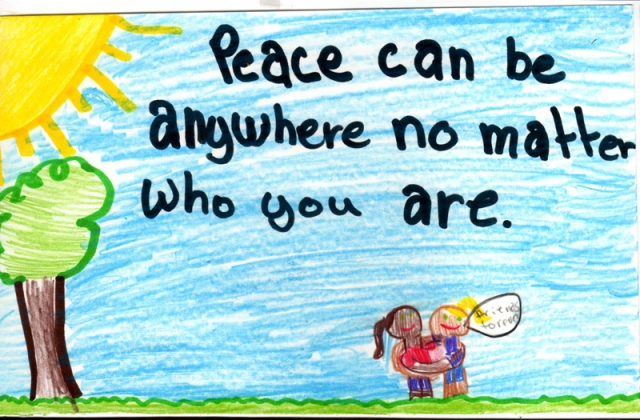 Peace Postcards - Ascension School
