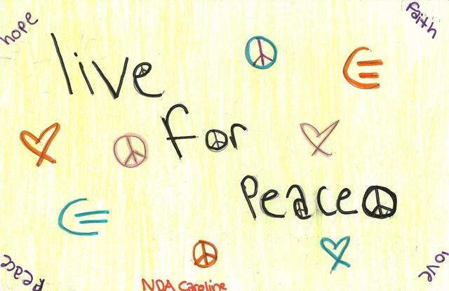 Peace Postcards - Notre Dame Academy