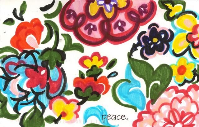 Peace Postcards - Clarksville