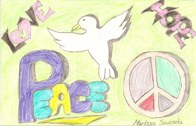 Peace Postcards - North Harrison Middle School