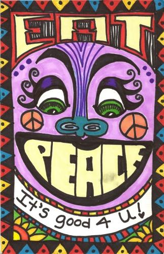 Peace Postcards - Gillespie