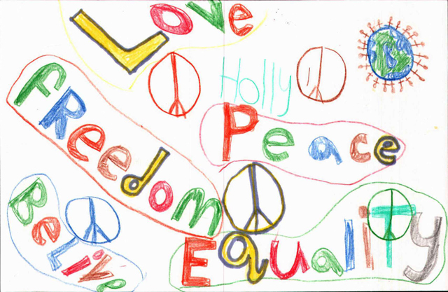 Peace Postcards - St. Francis School