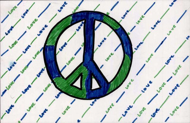 Peace postcards - Louisville
