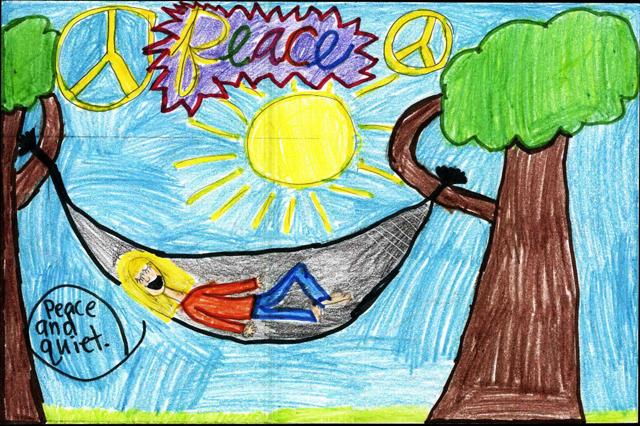 Peace Postcards - Farmer Elementary School