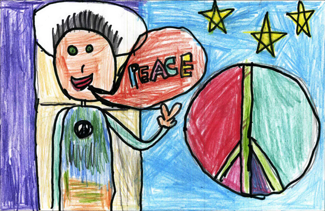 Peace Postcards - Mill Creek Elementary School