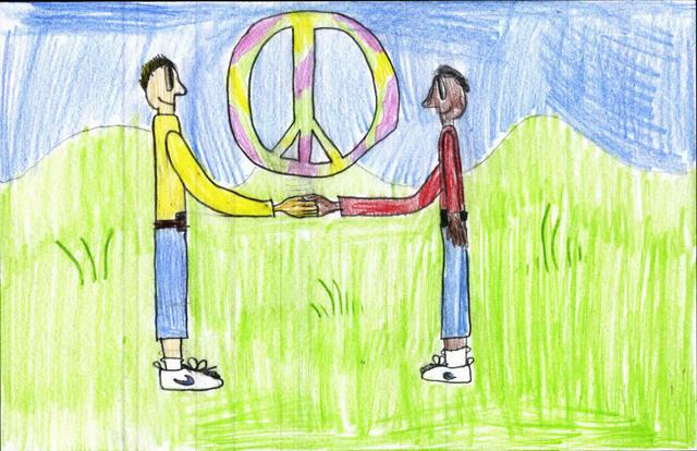 Peace postcards - St. Stephen Martyr School