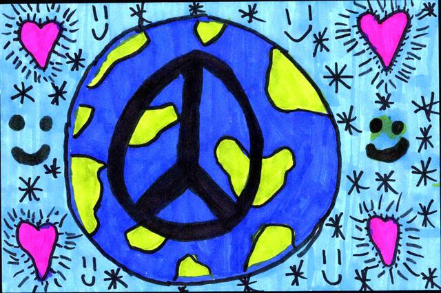 Peace Postcards - Sayre School