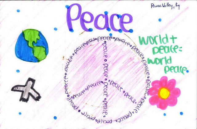 Peace Postcards - Pee Wee Valley