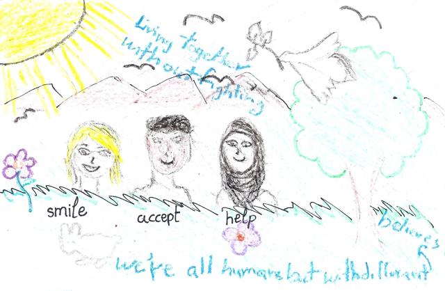 Peace Postcards - Libya