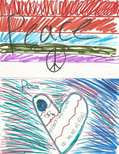 Sophia Academy - Peace Postcards