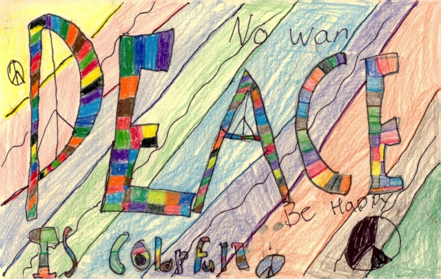 Peace Postcards - Lydia Middleton Elementary School