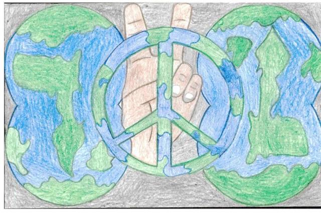 Peace Postcards - Ballard High School