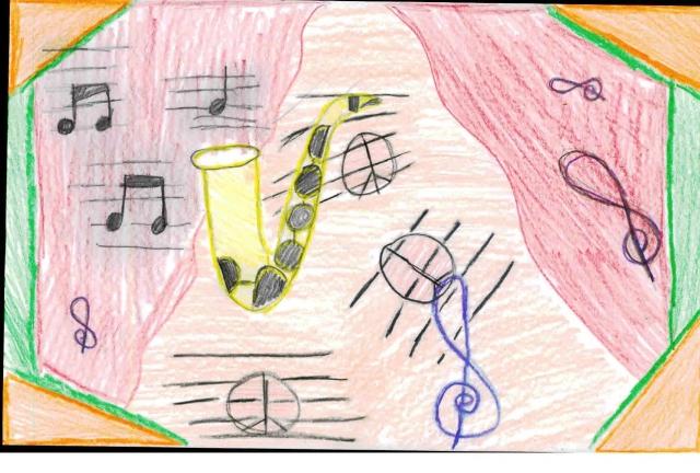 Peace Postcards - Blake Elementary
