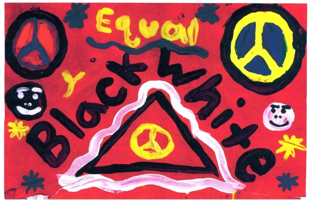 Peace Postcards - Cane Run Elementary