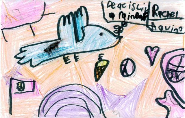 Peace Postcards - Chancey Elementary School