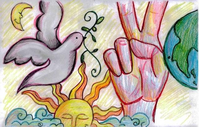 Peace Postcards - Eastern High School
