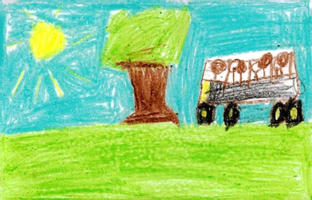 Peace Postcards - Engelhard Elementary