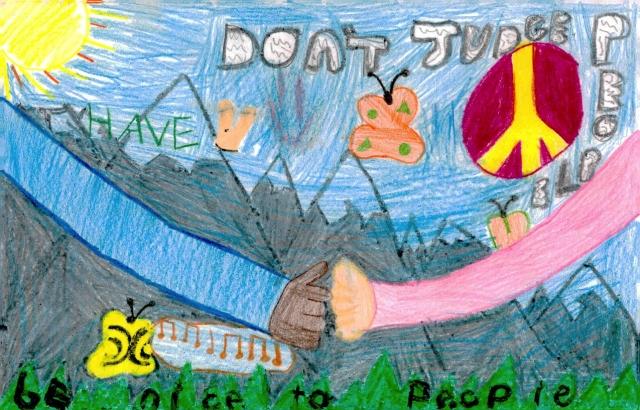 Peace Postcards - Fern Creek Elementary