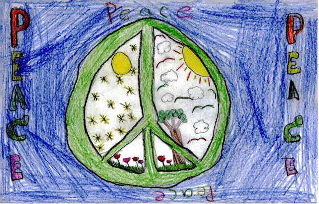Peace Postcards - Indian Trail Elementary School