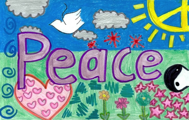 Peace Postcards - Jefferson County Traditional Middle School