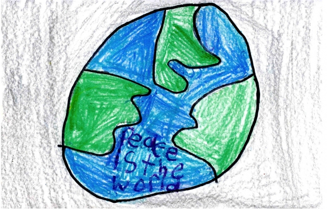 Smyrna Elementary - Peace Postcards