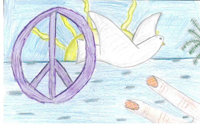 Stuart Middle School - Peace Postcards