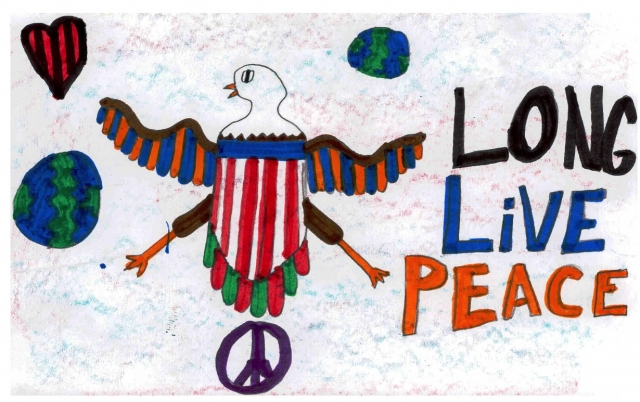Wilkerson Elementary - Peace Postcards